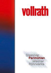 Prospekt mit Perlmühlen / Rührwerkskugelmühlen zur Feinmahlung im Labor- und in der Produktion.
