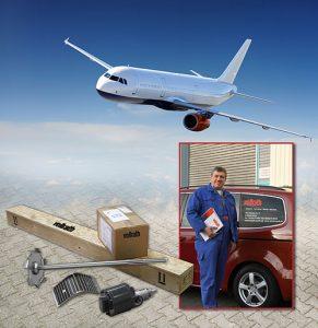 Sehr wichtig ist Firma Vollrath die weltweite, kurzfristige Ersatzteilversorgung und ein exzellenter Service