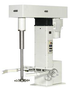 Stand Dissolver VDS 50 nach ATEX zum dispergieren/vordispergieren von Produkten, z. B. Farben und Lacke