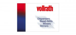 Vollrath products are Dispersers, Bead-Mills and Mixers/Stirrers